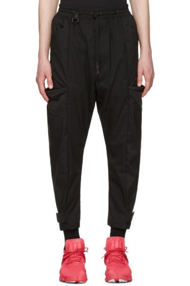 Y-3 - Black Minimalist NLN Trousers