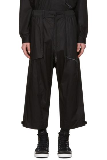 Y-3 - Black MIL SPC Trousers