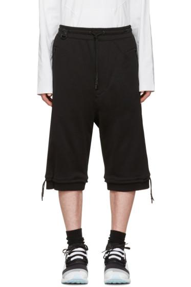 Y-3 - Black M BRND FT Shorts