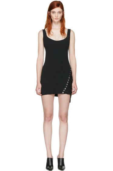Dsquared2 - Black Boot Lacing Dress