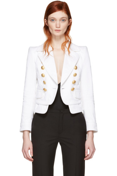 Dsquared2 - White Livery Sailor Bowie Jacket
