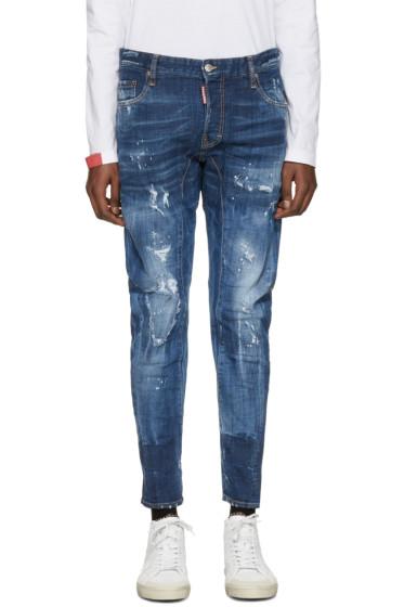 Dsquared2 - Blue Tidy Biker Jeans