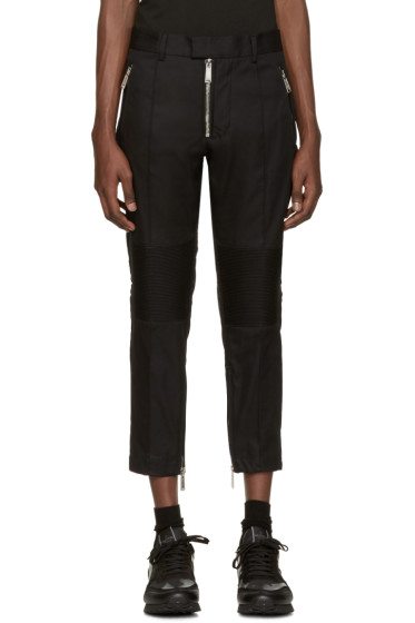 Dsquared2 - Black Military Trousers