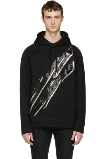 Dsquared2 - Black Lightning Bolt Hoodie