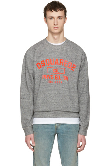 Dsquared2 - Grey Logo Pullover