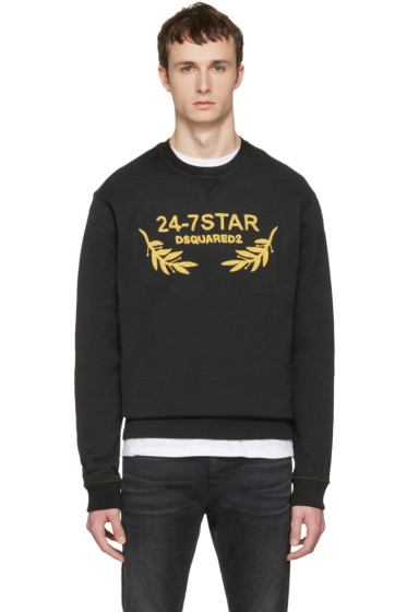 Dsquared2 - Black Soft Logo Sweatshirt