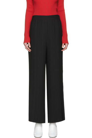 Helmut Lang - Black Pleated Pants