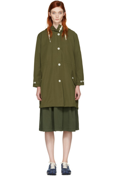 YMC - Green Mathilda Parka