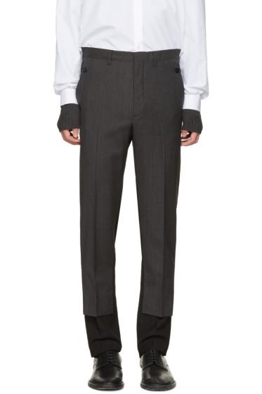 Maison Margiela - Black Contrast Trousers
