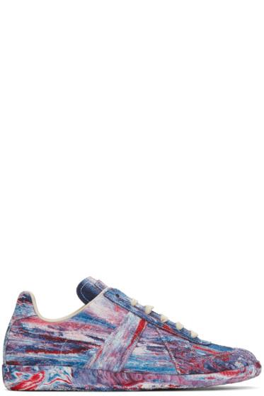 Maison Margiela - Multicolor Tie-Dye Replica Sneakers