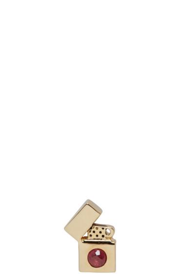 Marc Jacobs - Gold Lighter Earring