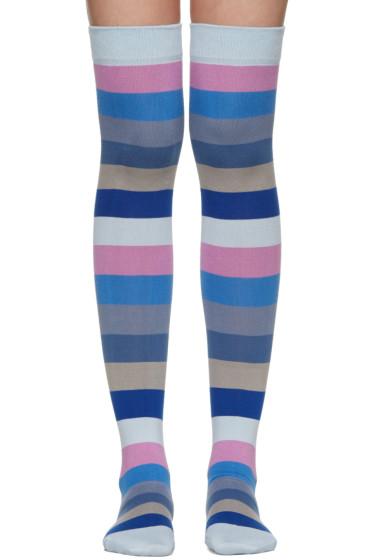 Marc Jacobs - Blue Striped Socks