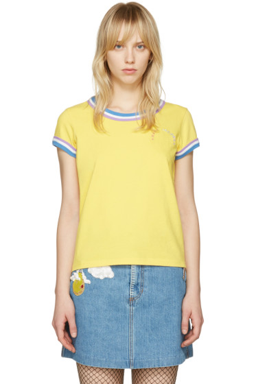 Marc Jacobs - Yellow Rainbow 70's T-Shirt