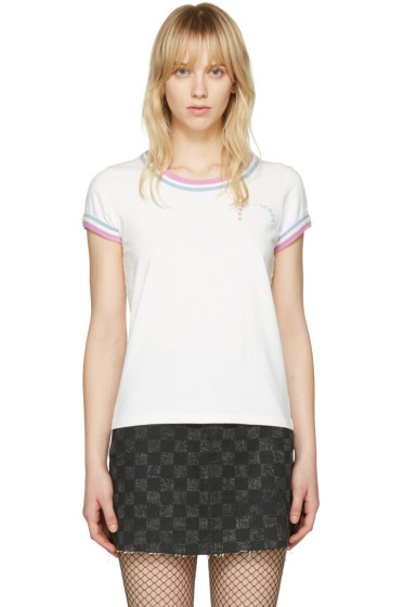 Marc Jacobs - Ivory Rainbow 70's T-Shirt