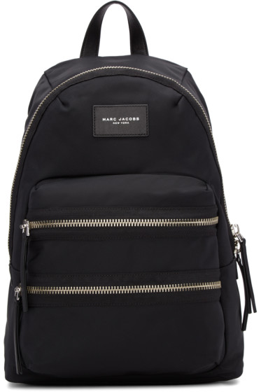 Marc Jacobs - Black Multi-Zip Backpack