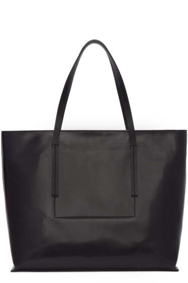 Rick Owens - Black Big Shopper Tote Bag