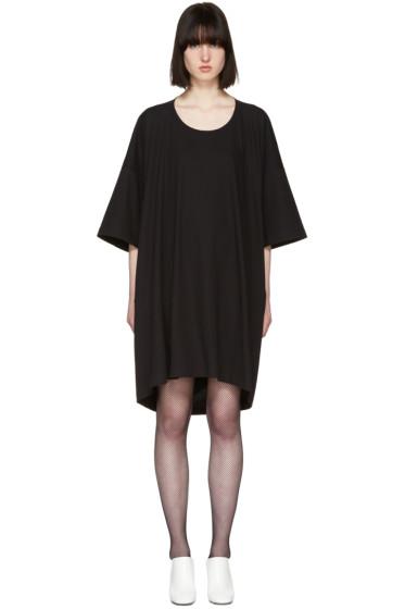 Jil Sander - ブラック T シャツ ドレス