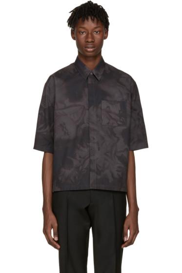 Jil Sander - Grey Minuetto Flower Shirt