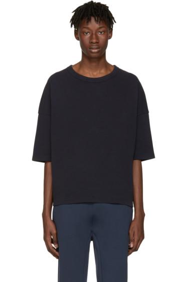 Jil Sander - Navy Piqué T-Shirt