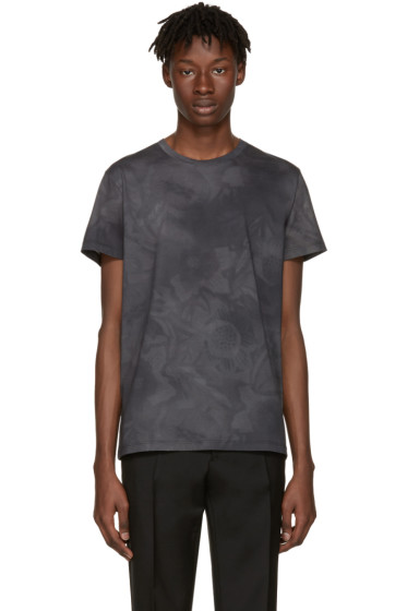Jil Sander - Grey Flower T-Shirt