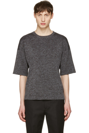 Jil Sander - Grey Drop Shoulder T-Shirt