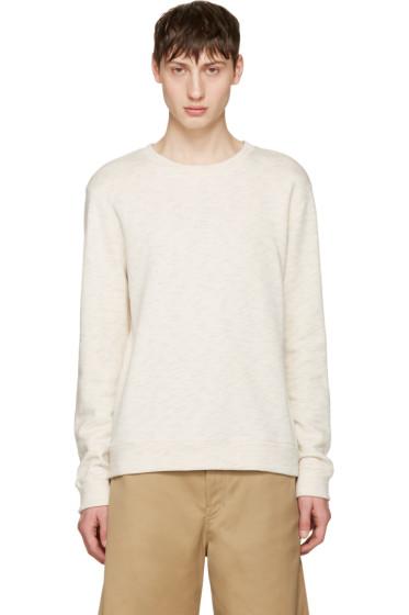 A.P.C. - Ecru Simple Pullover