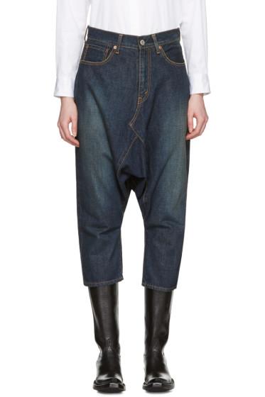 Junya Watanabe - Indigo Selvedge Denim Sarouel Jeans