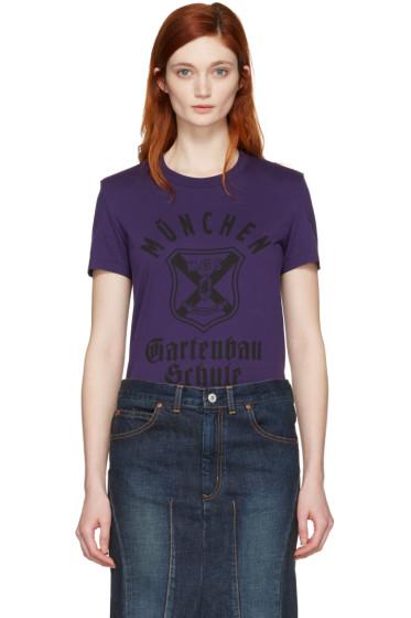 Junya Watanabe - Purple Graphic T-Shirt