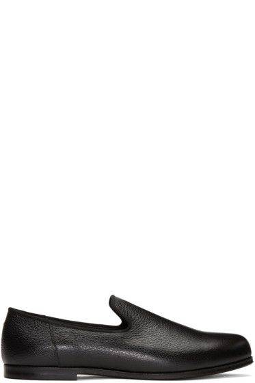 Junya Watanabe - Black Leather Loafers