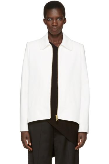 Lanvin - Ivory Short Zip Jacket