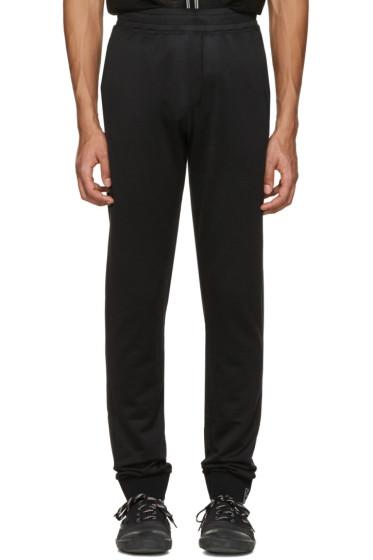 Lanvin - Black Worn Lounge Pants