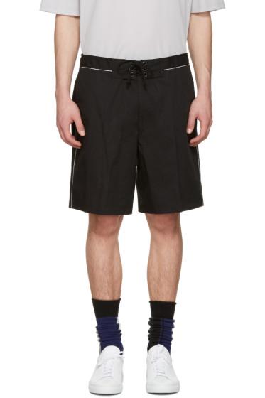 Lanvin - Black Tie-Up Shorts