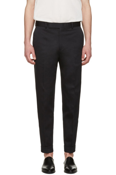 Paul Smith - Black Pleated Trousers