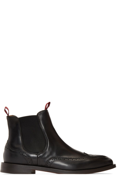 H by Hudson - Black Breslin Chelsea Boots