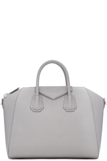 Givenchy - Grey Medium Antigona Bag