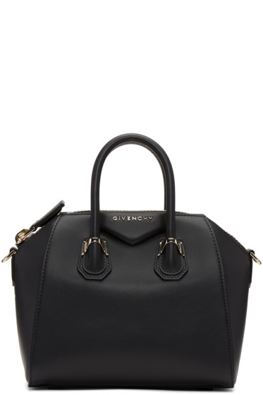 Givenchy - Black Mini Piercing Antigona Bag