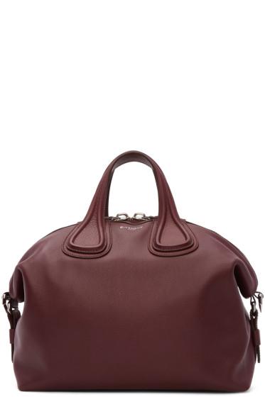 Givenchy - Burgundy Medium Nightingale Bag