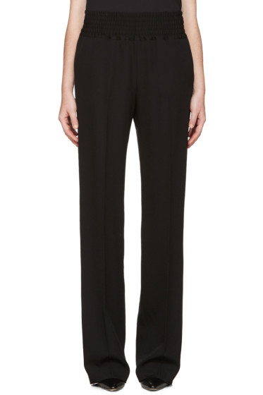 Givenchy - Black Wool Lounge Pants