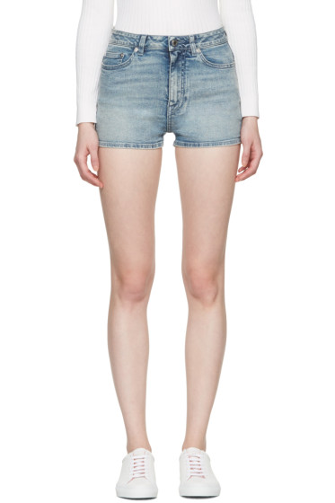 Givenchy - Blue Denim Shorts