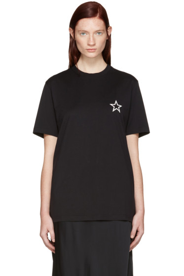 Givenchy - Black Empty Star T-Shirt