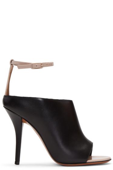 Givenchy - Black & Beige Heeled Sandals