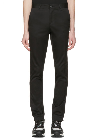 Givenchy - Black Stars Chino Trousers