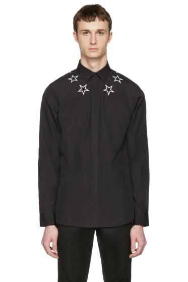 Givenchy - Black Stars Shirt