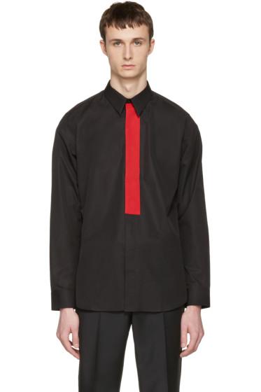 Givenchy - Black Red Band Shirt