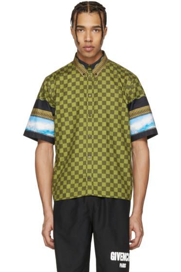 Givenchy - Multicolor Check & Waves Shirt
