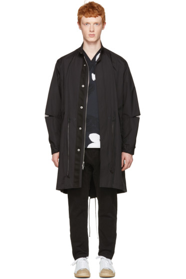 3.1 Phillip Lim - Black Fish-Tail Coat