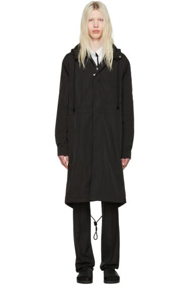 Raf Simons - Black Robert Mapplethorpe Edition Workwear Calla Lily Parka