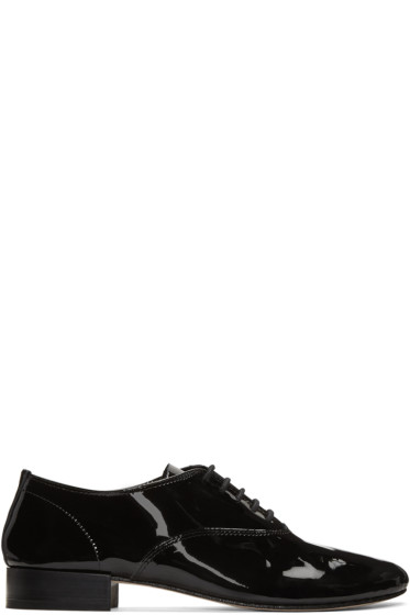 Repetto - Black Zizi Oxfords