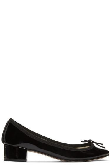 Repetto - Black Camille Ballerina Heels