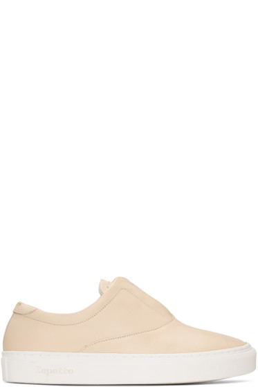 Repetto - Beige Fanny Sneakers